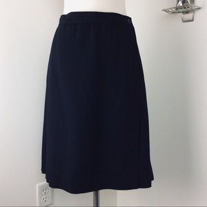 Jones New York 100% Wool Pleated Wrap Skirt (10)